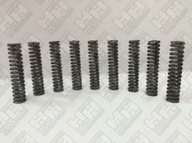 Комплект пружинок (9шт.) для гусеничный экскаватор HITACHI ZX470-3 (0451016)