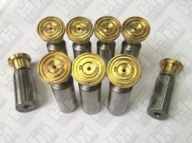 Комплект поршней (9шт.) для экскаватор гусеничный HYUNDAI R180LC-7 (XJBN-00425, XJBN-00424, XJBN-00437)