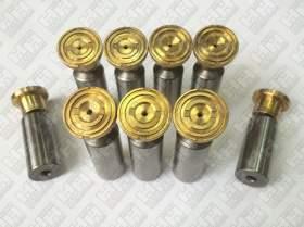 Комплект поршней (9шт.) для гусеничный экскаватор HYUNDAI R300LC-9 (XJBN-00947, XJBN-01633, XJBN-01632)