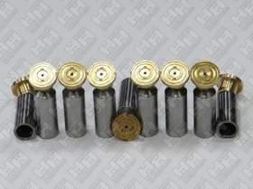 Комплект поршней (9шт.) для гусеничный экскаватор HYUNDAI R520LC-9 (XJBN-00681, XJBN-01522, XJBN-01523)