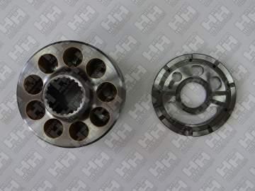 Блок поршней c распределительной плитой для экскаватор гусеничный KOMATSU PC200-8 (708-2L-06470, 708-2L-06480)