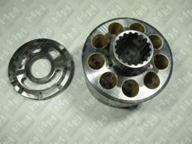 Блок поршней c распределительной плитой для экскаватор гусеничный KOMATSU PC400-6 (708-2H-04140, 708-2H-04150)